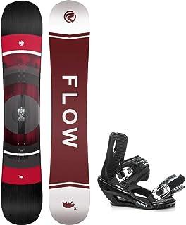 Flow 2021 VERT 156cm Men's Snowboard+5TH Element Strap Bindings
