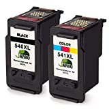 JARBO Remanufactured Canon PG-540XL CL-541XL Cartouches d'Encre Compatible avec Canon Pixma TS5150 MG3650 MG4200 MG3550 MG4250...