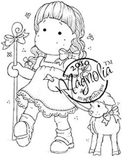 Magnolia Hoppy Easter Cling Stamp, 3.75 by 5.5-Inch, Tilda as Shepherd