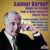 Barber: Adagio for Strings / Piano Concerto / Violin Concerto
