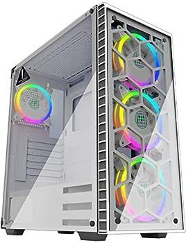 white gaming pc case