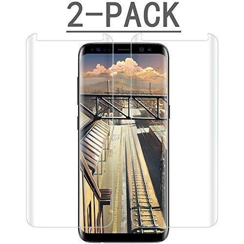 S8 Screen Protector for Samsung Galaxy S8 2-PACK Clear