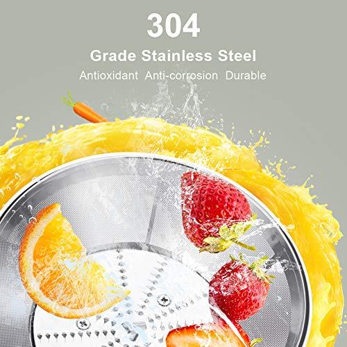 Licuadoras Para Verduras y Frutas 600W con 2