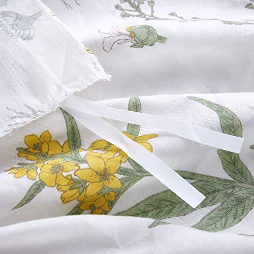 Wake In Cloud Botanical Duvet Cover Set