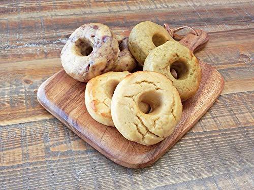 グルテンフリー 糖質55%OFF 低糖質ベーグル[アソートセット] (お試し6個)【小麦粉・卵不使用 玄米パン】
