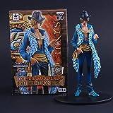 GYCOZ Decoración hogareña Banpresto craneking dxf 15ª edición onime japonés One Piece Black Leg Coci...