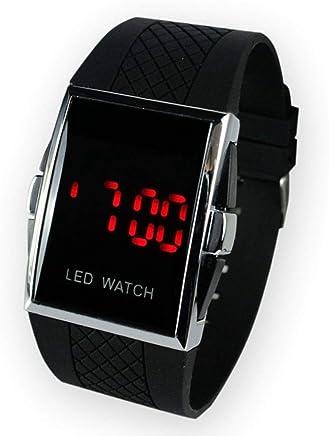 SolarM Mens LED Digital Sport Watch Relojes Deportivos Para Hombres