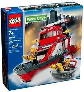 LEGO City Fire Rescue Fire Command Craft (7046)