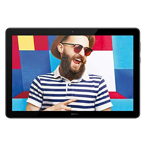 HUAWEI MediaPad T5 - 10.1 Inch Android 8.0 Tablet, 1080P Full HD Display, Kirin 695 Octa-Core Processor, RAM 4GB, ROM 64GB, Dual Stereo Speakers, 5100mAh Large Battery, Black