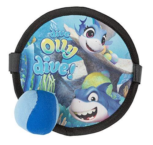 III D7015ABC/B Soft Klettballspiel für Kinder ab 3 Jahren, Timmy, Tauch Motiv, ca. 19 cm, blau, bunt