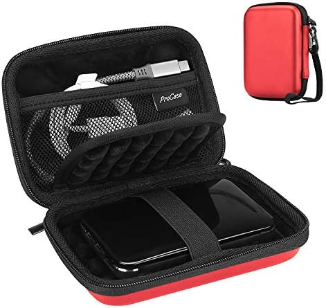 ProCase Portable Hard Drive Case for Canvio Basics Western Digital WD Elements My Passport Seagate product image