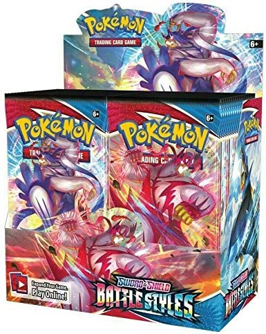Pokemon TCG Battle Styles Booster Box Pre Order Available 3 19 21 product image