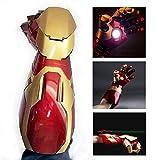 B LL MK42 1: 1 Iron Man Bras Gauche, Jouet ABS pour Adolescents avec Son et lumière, Collection de décoration pour la Maison