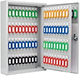 Winbest Steel 120 Key Cabinet Storage Safe Lock Box Wall Mount Cabinet
