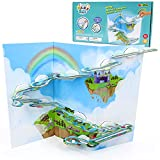 jerryvon Circuito Canicas Bloques Construccion Niños - Juegos Educativos Magneticos Juguetes Montessori para Niños 5 6 7 años