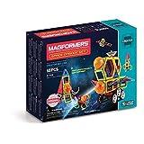 Magformers 宇宙エピソード55ピース レインボーカラー 教育的磁気幾何学形状タイル 組み立て STEMおもちゃセット 対象年齢3歳以上