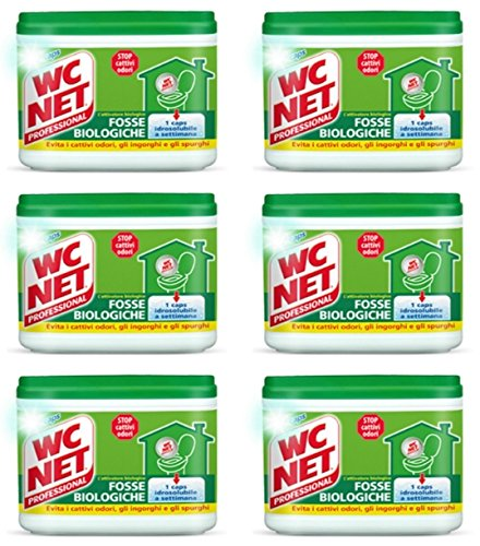 72 Caps WC Net Professional Fosse Biologiche WCNet per il bagno fossa biologica