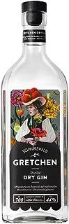 Schladerer Gretchen Schwarzwald Dry Gin, harmonischer Gin, natürlich herb und fruchtig frisch mit feinen Quittennoten 1 x 0.7 l