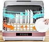 Sooiy Profesional gabinete UV de desinfección, máquina de desinfección por UV, el Acero Inoxidable, el Modo de Eco, una Hora, Vidrio y desinfección 42 l de Capacidad 2.020