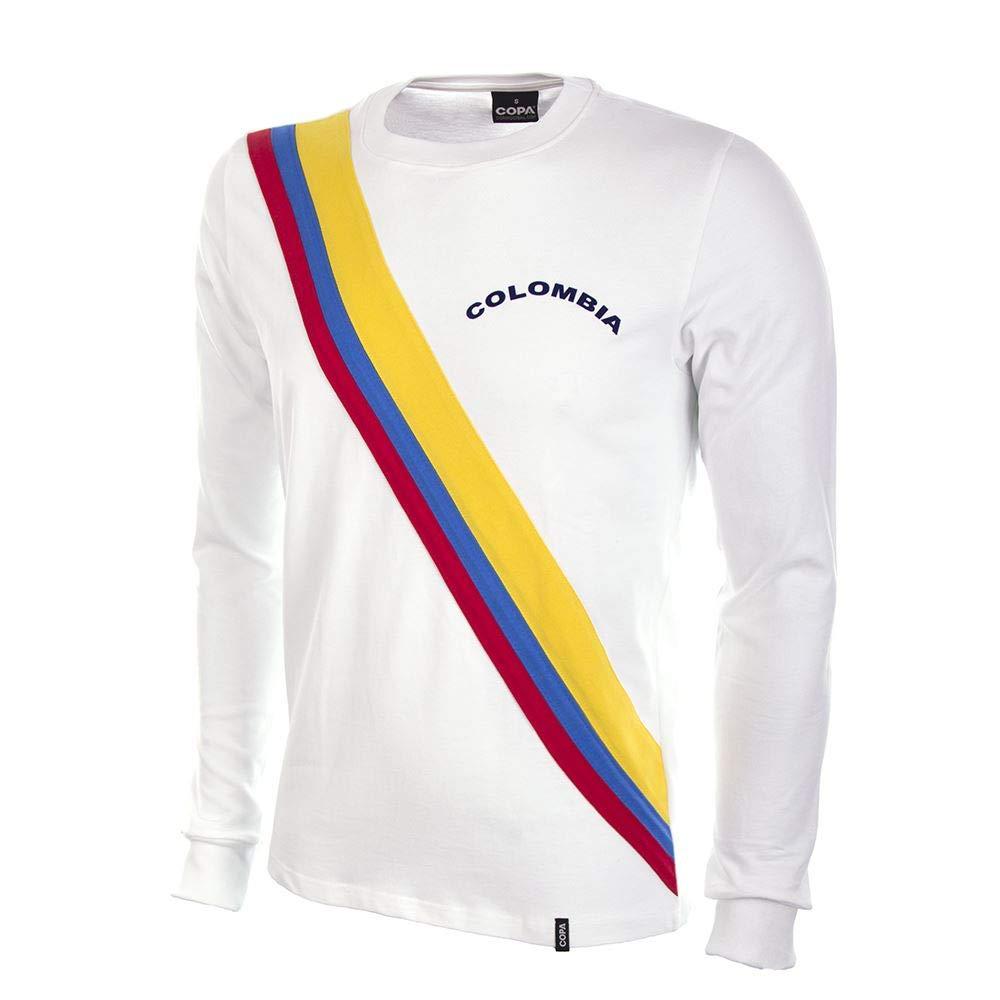 COPA Football - Camiseta Retro Colombia 1973 (XXL): Amazon.es: Deportes y aire libre