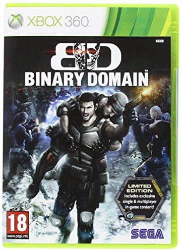 Binary Domain Limited Edition Game (Xbox 360)