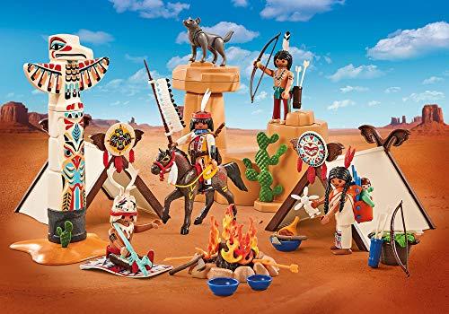 Playmobil – 9899 – Western – Camps der Indianer – in Kunststoffverpackung – keine blaue Kartonschachtel