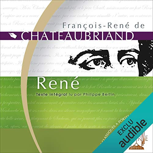 René  audiobook cover art