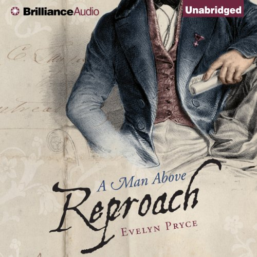 A Man Above Reproach audiobook cover art