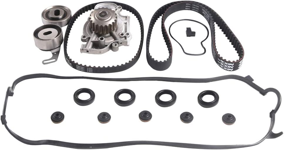 Timing Belt Kit W Water with Cover PumpValve Compatible Award-winning store 1997-19 Gifts