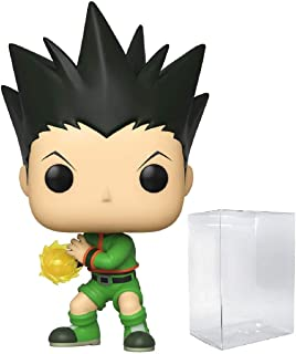 Funko Pop! Anime: Hunter x Hunter - Gon Freecs Jajank Vinyl Figure (Bundled with Pop Box Protector Case)