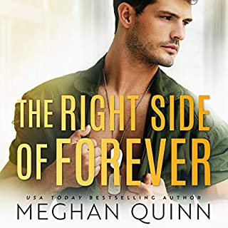 The Right Side of Forever     The Perfect Duet, Book 2              By:                                                                                                                                 Meghan Quinn                               Narrated by:                                                                                                                                 Joe Arden,                                                                                        Maxine Mitchell                      Length: 7 hrs and 16 mins     4 ratings     Overall 5.0