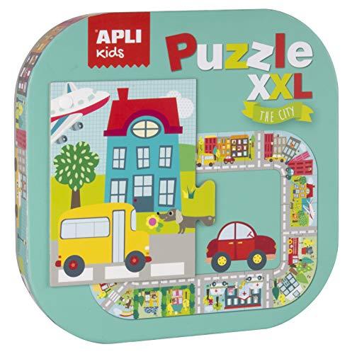 APLI Kids 16578-Puzle XXL Ciudad (16578) , color/modelo surtido (Juguete)