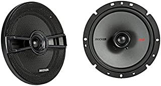 Kicker KSC6704 KSC670 6.75 Coax Speakers with .75 tweeters 4-Ohm [並行輸入品]