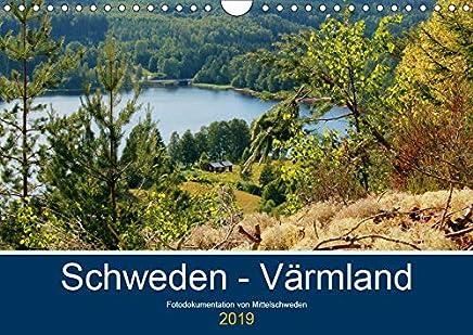 Schweden - Värmland (Wandkalender 2019 DIN A4 quer): Fotodokumentation von der typisch schwedischen Natur in Värmland. (Monatskalender, 14 Seiten )