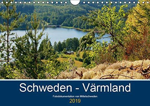 Schweden - Värmland (Wandkalender 2019 DIN A4 quer): Fotodokumentation von der typisch schwedischen Natur in Värmland. (Monatskalender, 14 Seiten ) (CALVENDO Natur)