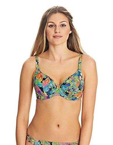 Freya Damen Island Girl Bügel-Bikini-Oberteil Gr. 75F, Schwarz