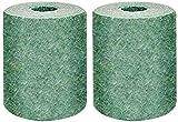 Tappetino per Erba da Surf Rotolo per Erba biodegradabile Rotolo con Semi Tappeto per Erba Verde per Cortile Giardino Giardino Patio Basta Scorrere l'acqua e Coltivare l'erba Non