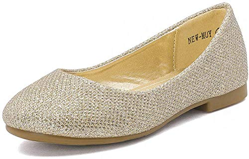 Top 10 best selling list for flat champagne glitter shoes
