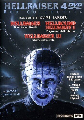Hellraiser Box Collection (4 Dvd) [Italia]