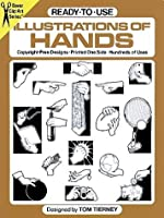 Ready-to-Use Illustrations of Hands (Dover Clip-Art Series)