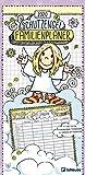 Schutzengel 2020 Familienplaner - Familienkalender - Monatsplaner mit 5 Spalten - Familientermine - 22x45cm