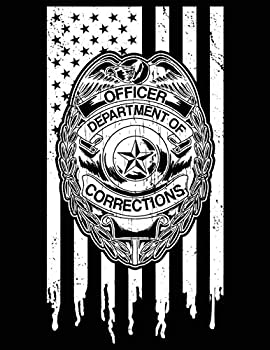 Officer Department of Corrections  2020 - 2023 Four Year Monthly Planner and Notebook