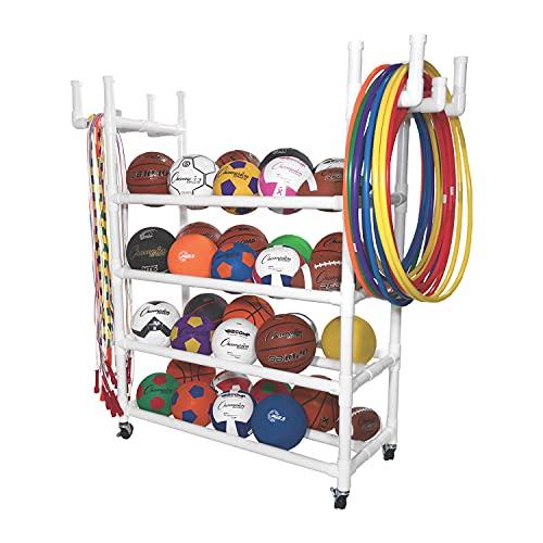 Champion Sports Equipment Cart White