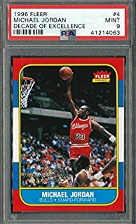 michael jordan rookie card psa 9