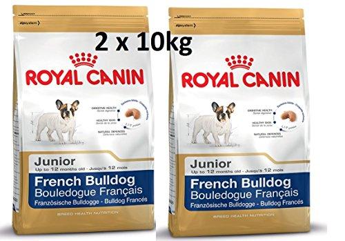 Comida para perros Royal Canin French Bulldog Junior (2 x 9 kg)