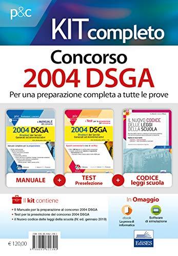 Kit completo Concorso DSGA per tutte le prove