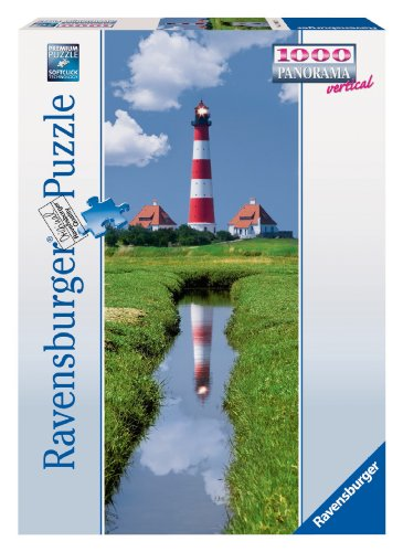 Ravensburger 15093 - Westerhever Leuchtturm - 1000 Teile Panorama Puzzle