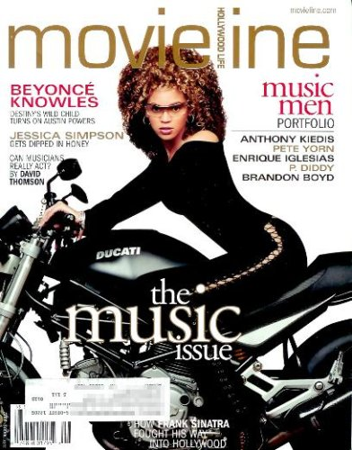 Movieline Magazine - July / August 2002: Beyonce, Jessica Simpson, and More! (Single Issue Magazine)