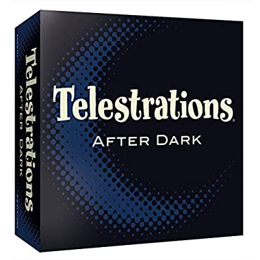 USAopoly Telestrations After Dark Adult Party Game | Adult Board Game | An Adult Twist on the #1 Party Game Telestrations | The Telephone Game Sketched Out | Ages 17+
