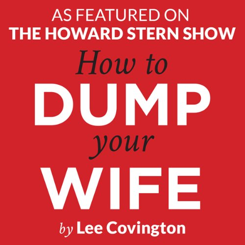 How to Dump Your Wife audiobook cover art